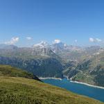 Grande Motte, Grande Casse, lac du Chevril