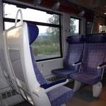 Dans le train pour Grenoble