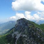 Pointe de Talamarche depuis le Lanfonnet