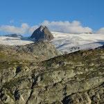 Vedette et Punta d'Avernet, glacier du Ruitor