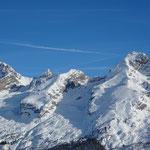 De la Pointe Percée au Mont Charvet