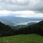 Lac d'Annecy depuis le chalet des Crottes