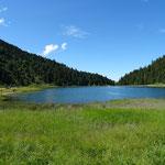 Lac de Tuéda à 10 minutes du parrking