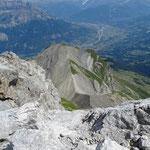 Col de Doran en contrebas depuis le sommet