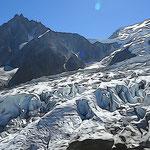 Aiguille du Midi et Mont-Blanc du Tacul