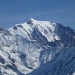 Arête des Bosses au Mont-Blanc