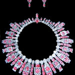 Cartier necklace - interpretation and earrings creation