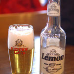 Eichhof Lemon - Beer Mixed Drink - Fresh Lemon and Peppermint