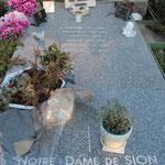 La tombe de Soeur Emmanuelle