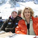 Michaela May und das Blue Planet TV Team treffen Skisprung-Olympiasieger Gregor Schlierenzauer
