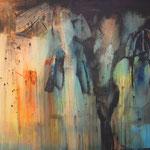 La Reinne de la nuit de Paris - 170x120cm auf Holz