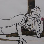 - Tusche/Aquarell 50x70cm