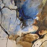 Frauengespräche - Acryl/Tusche