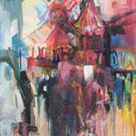 Moulin Rouge - 100x120cm Leinwand