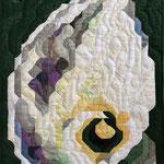 2004 © CALLA 105x65cm € 580, maschinengenäht, handquilten, baumwolle