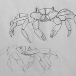 © Schablonen für die Krabben
