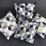 Kissen Cubes 40x40cm