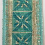 Stempeltrykk med tekstilmaling, lin, bomull