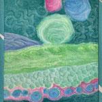 A4, maschinenquilten, textilmalfarben, acrylfarben, baumwolle