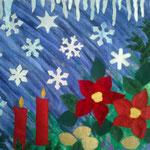 © detalj vinter