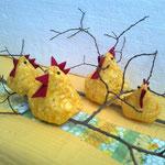 Freche Hühner