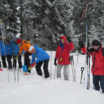 Lawinenübung auf der CAS-Hütte 2015