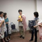 江東区助産師会にて「スリングの使い方」