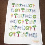 1歳の記念に、ママがお子様のお名前を色鉛筆で作成!!!