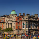 O´Connell Street and Monument Dublin