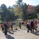 藤ヶ丘公園で一度目の小休止