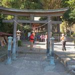 珍しい名前の「十二神社」で小休止