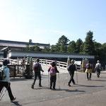 平川門・平川橋横をウォーキング