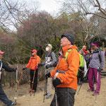 折田不動公園で梅を観賞