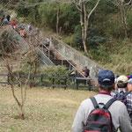 体験参加者には階段のレクチャーに丁度良い階段