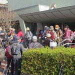 青葉スポーツセンターでトイレ休憩し、藤ヶ丘地区センターを目指す