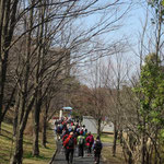 最終目的地「早渕台公園」を目指して出発