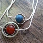 Karneol, Opal, Silber