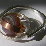 Dreamachat, Silber, Kupfer