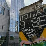 Berlijnse Muur in Brussel