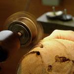 Texture à la brosse métallique