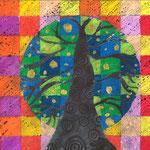 Bomen in warm koud contrast 2013 2014 de website van kunstopdemagnolia - Warme en koude kleuren in verf ...