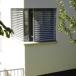 Übereck-Fenster Küche