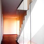 Treppe zum Studio