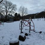... der Spielplatz im Winterschlaf
