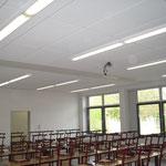 Akkustikdecke Gymnasium