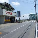 石井橋前の店舗