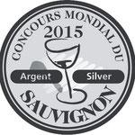Domaine de l'Ermitage Blanc 2014 - Médaille d'Argent au Concours Mondial du Sauvignon 2015