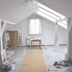 Atelier- und Wohnbereich