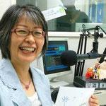 ゲストの田渋あづささん(2014.07.17オンエア)