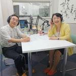 FM太白「僕と私とコーチング」にてゲストの佐藤好彦さんと。(2014.08.07オンエア)